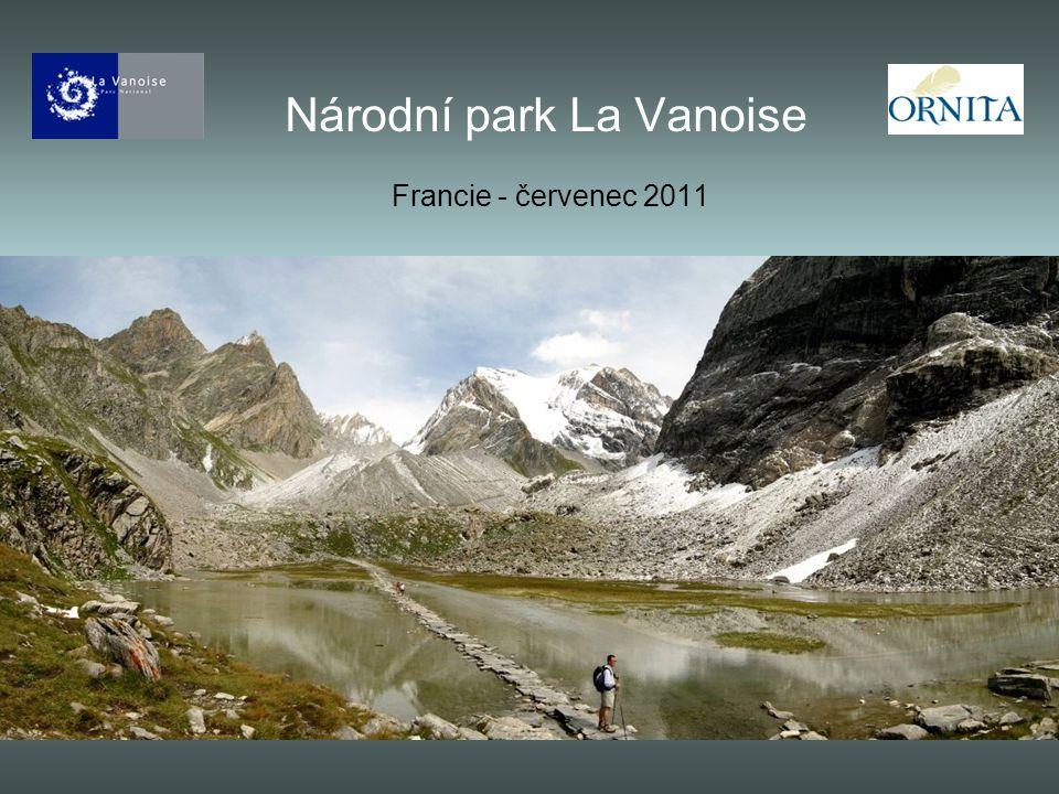 Národní park La Vanoise Francie - červenec 2011