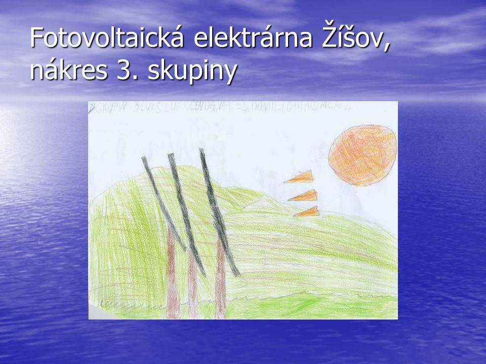 Fotovoltaická elektrárna Žíšov, nákres 4. skupiny