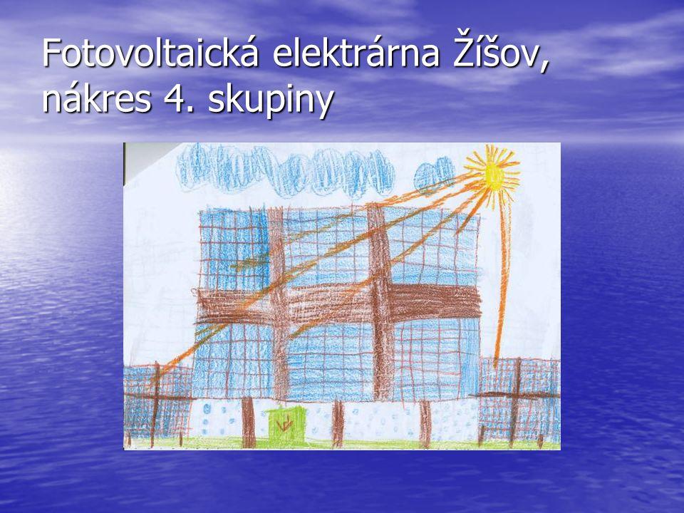 Fotovoltaická elektrárna Žíšov, nákres 5. skupiny