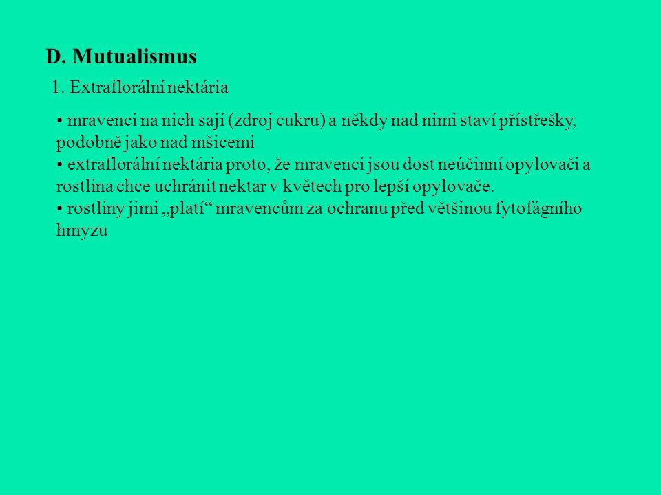 D.Mutualismus 1.