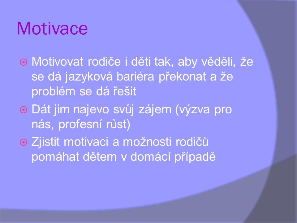 Spolupráce s rodiči  Nechte přeložit do rodného jazyka cizinců základní a provozní informace školky  Předejte písemně a srozumitelně informace o platbách a výši stravného.