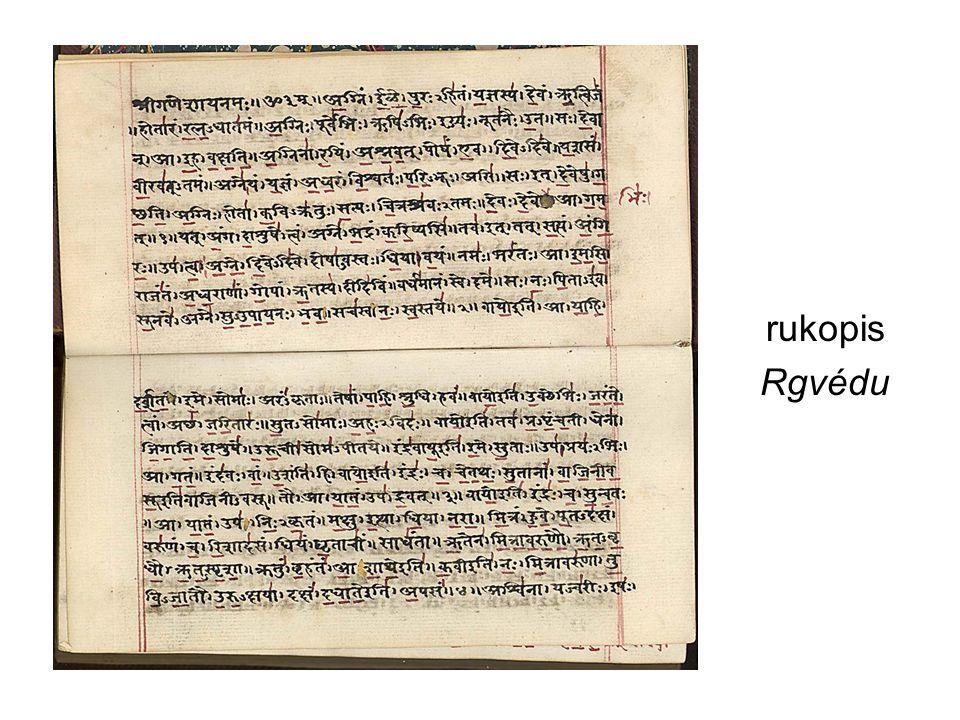 rukopis Rgvédu