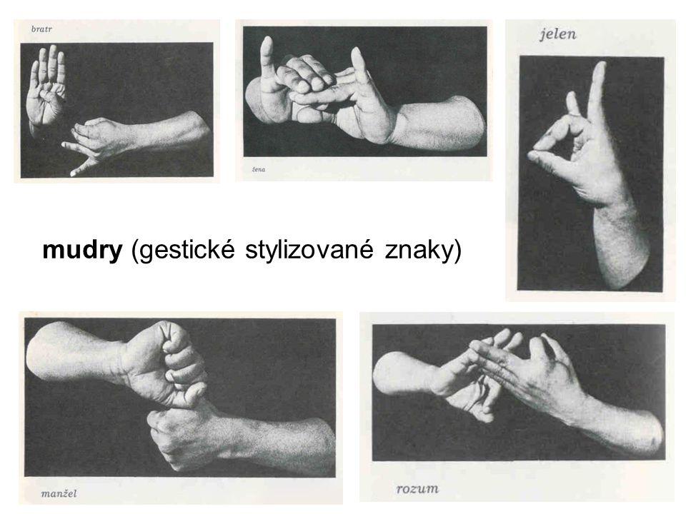 mudry (gestické stylizované znaky)