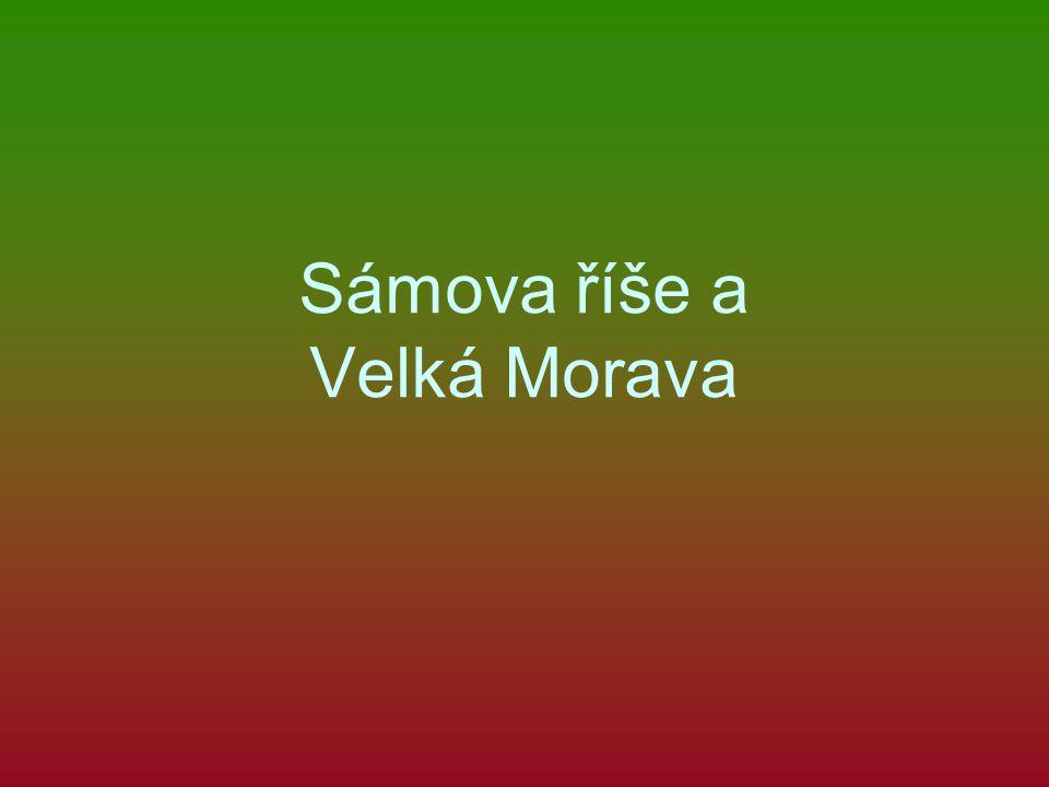 Sámova říše a Velká Morava