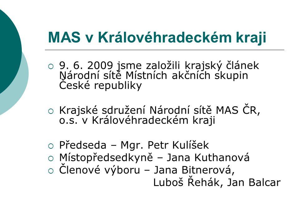 MAS v Královéhradeckém kraji  9. 6.