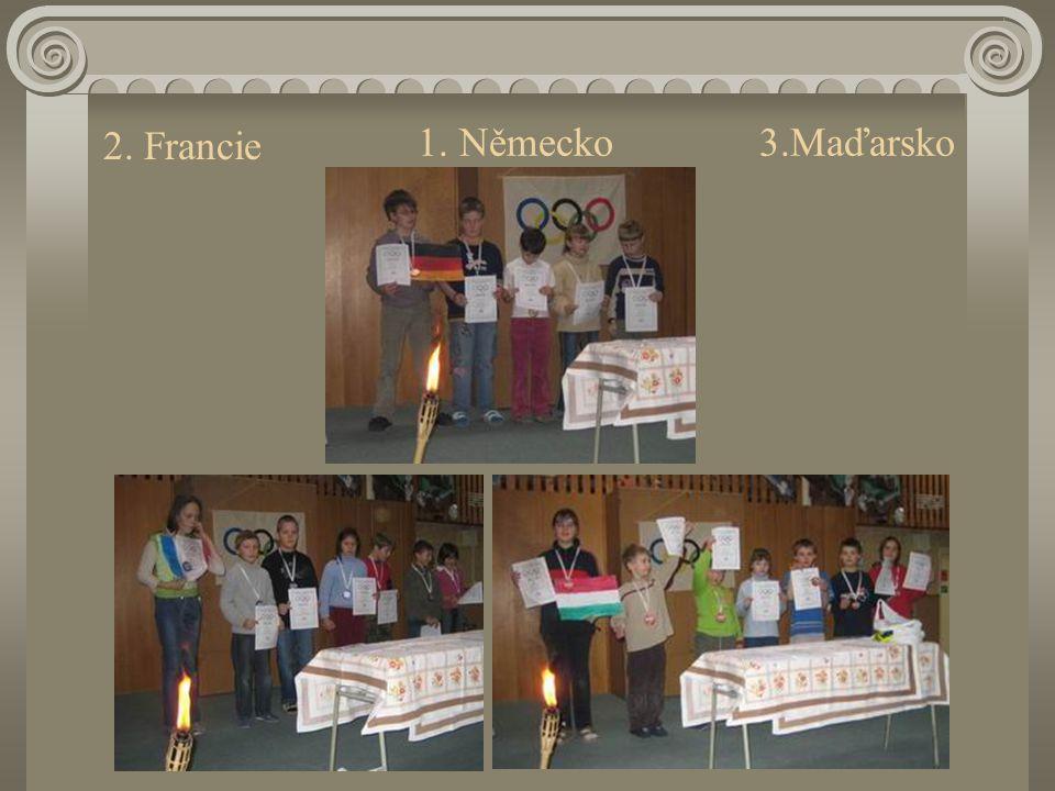 1. Německo 3.Maďarsko 2. Francie