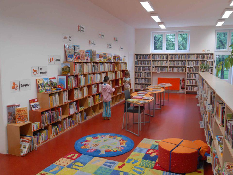 Proč mít knihovnu v obci.