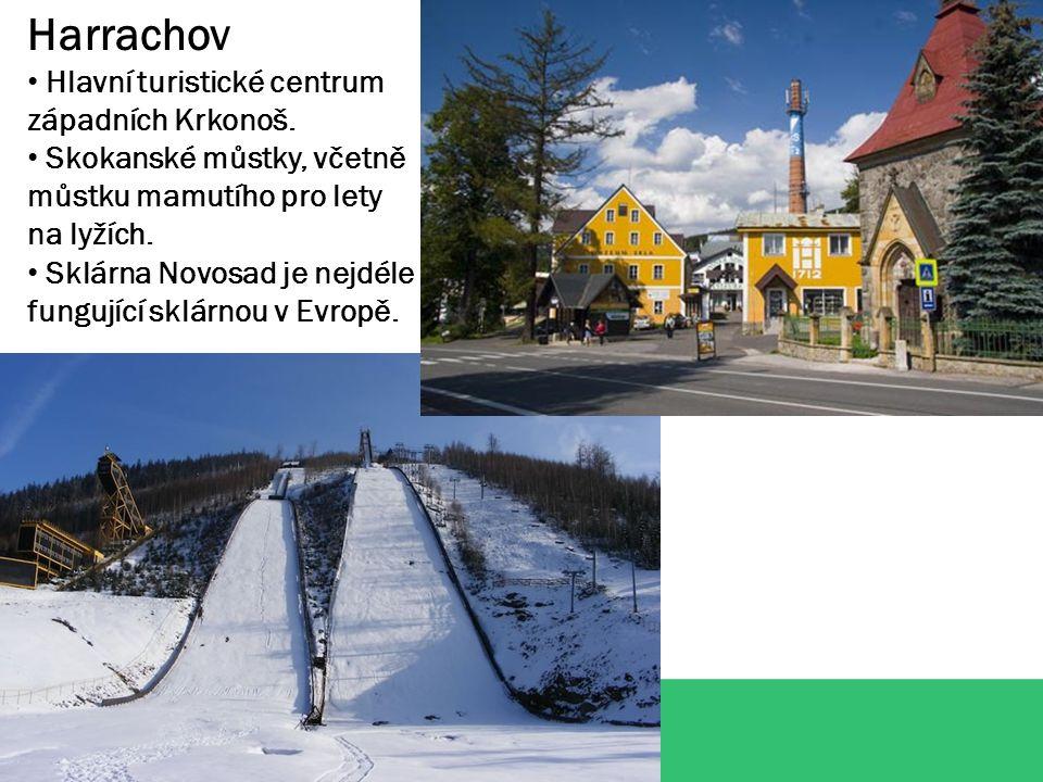 Harrachov Hlavní turistické centrum západních Krkonoš.