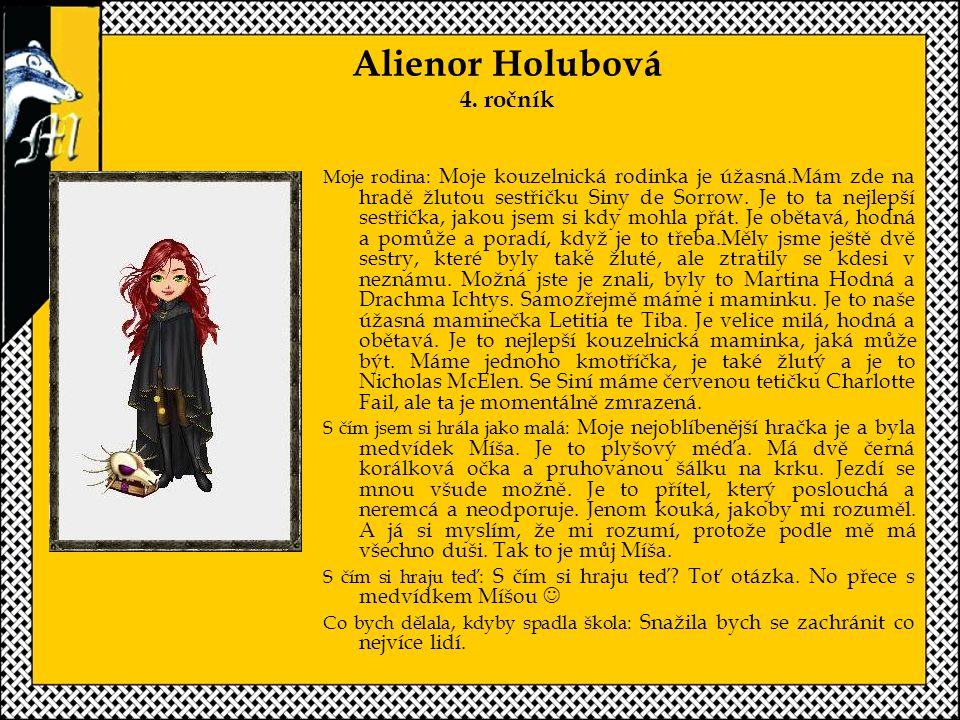 Alienor Holubová 4.