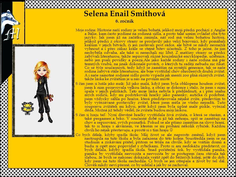 Selena Enail Smithová 6.