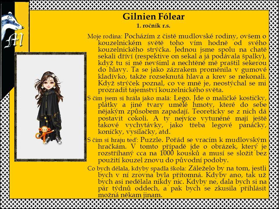 Gilnien Fólear 1.ročník r.s.