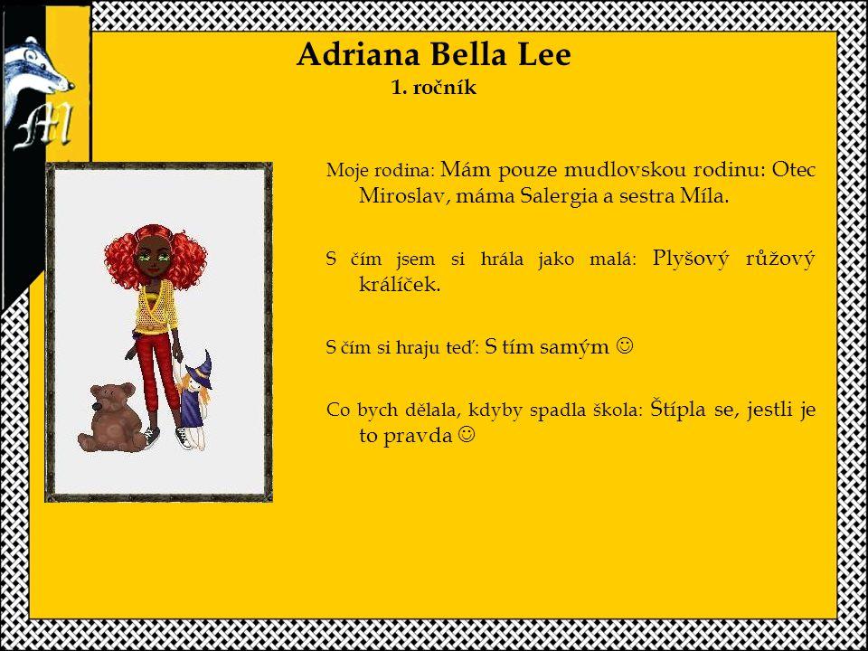 Adriana Bella Lee 1.