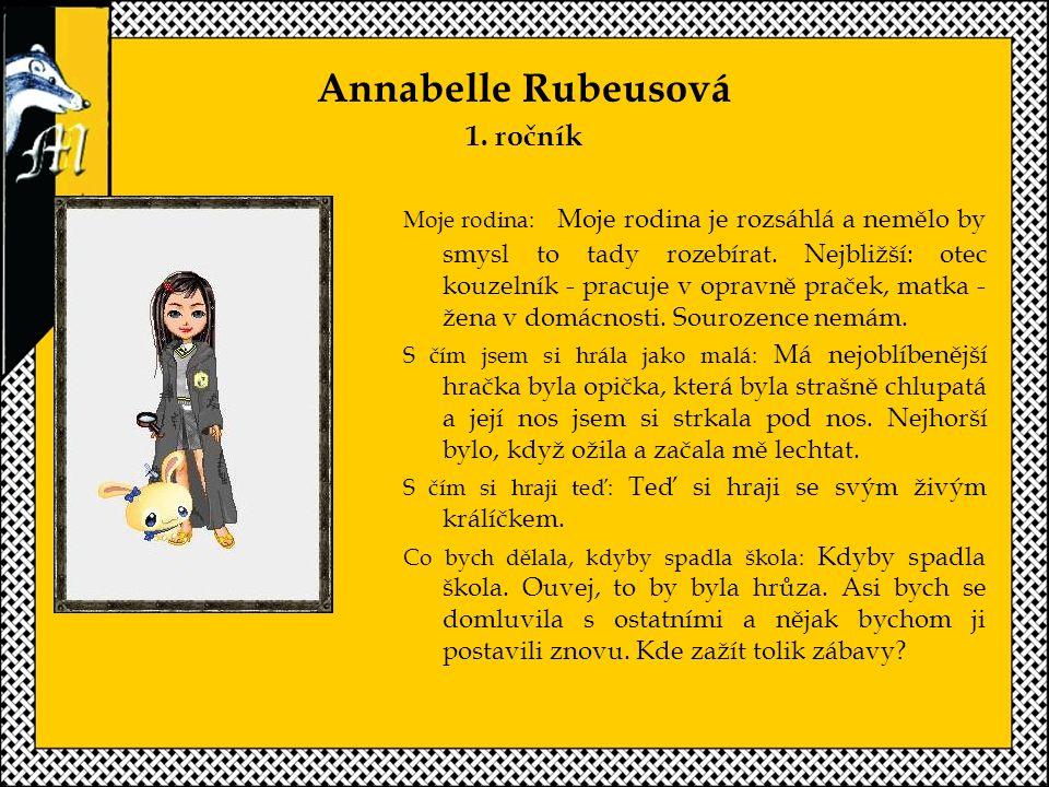 Annabelle Rubeusová 1.