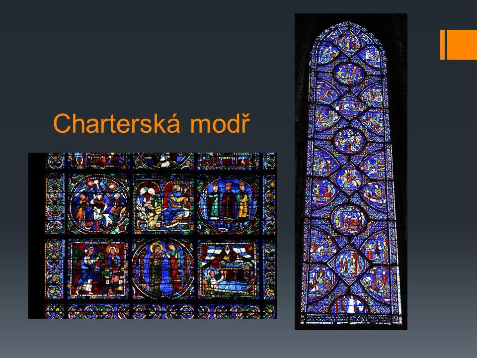 Charterská modř