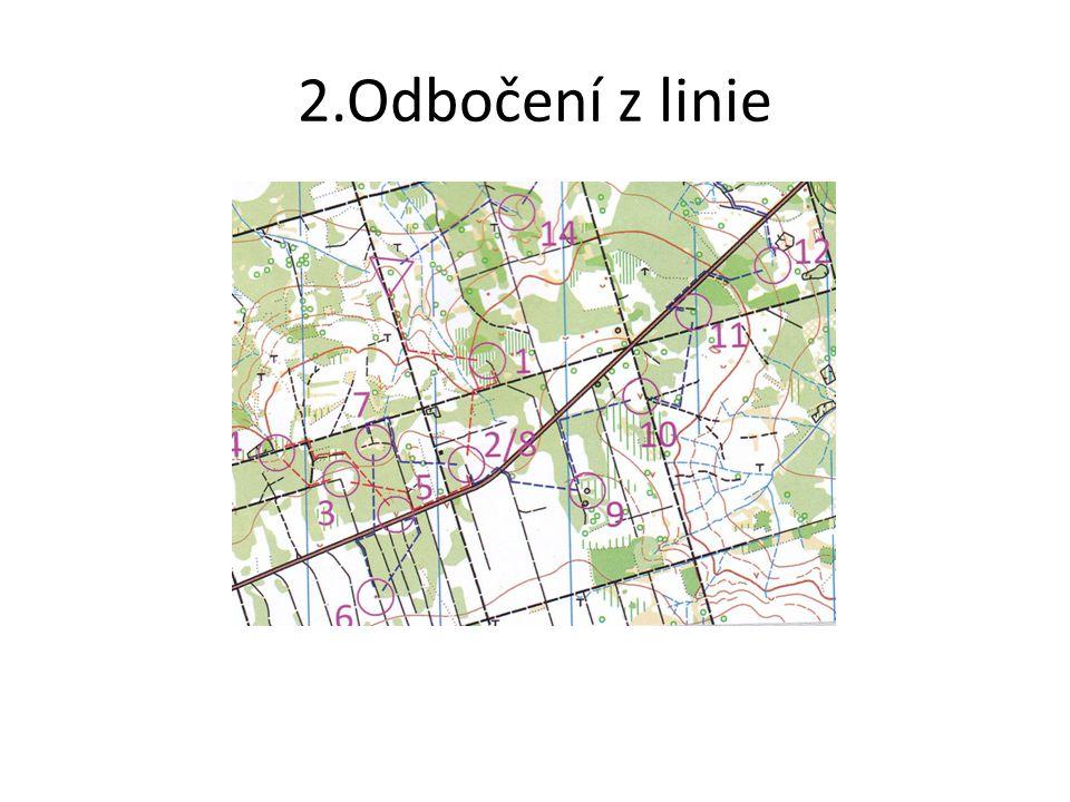 2.Odbočení z linie