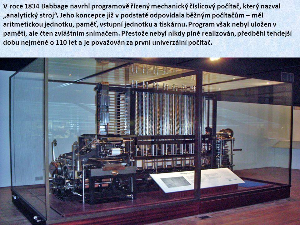 Hermann Hollerith Stavěl na dřívějších pokusech – Falcona A Jacquarda – programovatelné stroje na bázi děrných štítků.