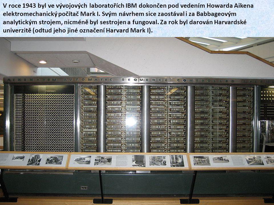 Konrad Zuse Ve třicátých a čtyřicátých letech dvacátého století vzniklo v dílně německého leteckého inženýra Konrada Zuse postupně několik počítačů.