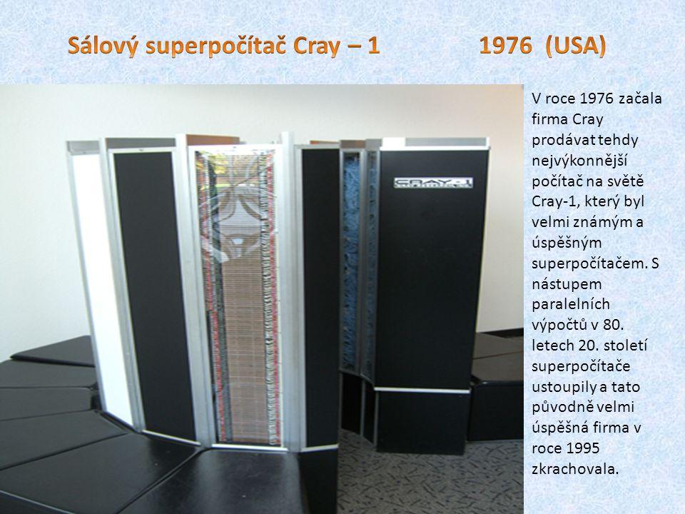 Počítače 4.generace – mikroprocesory 70. až 80.