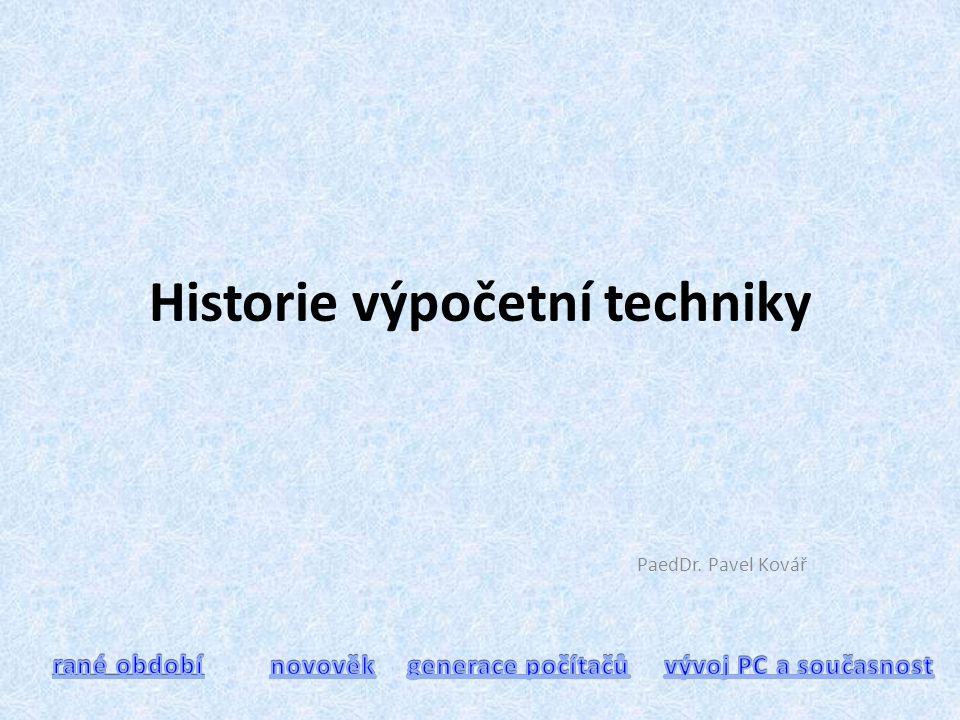 Ú S V I T dějin