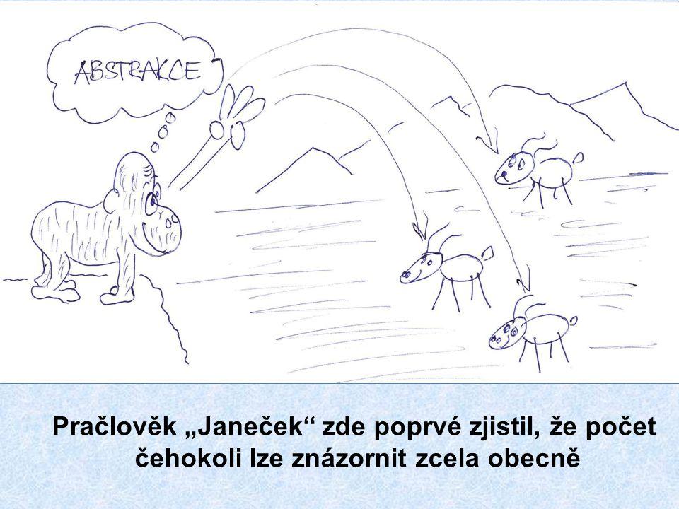 ABAKUS – předchůdce současného počítadla – abakion – – plochá deska – původ názvu je v řečtině.