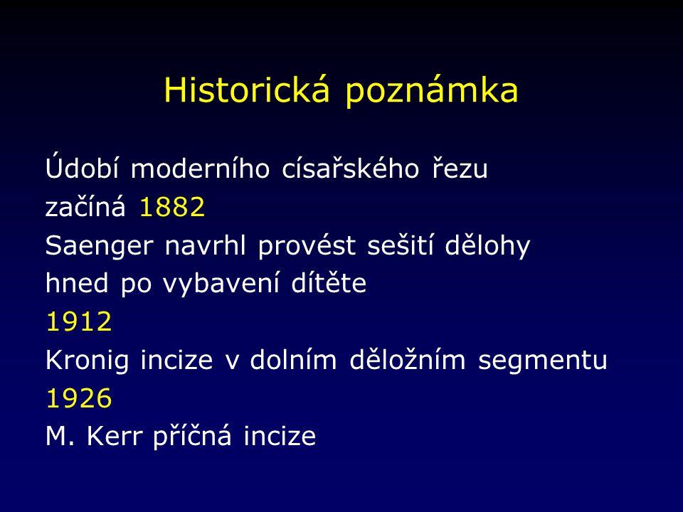 Název operace Sectio caesarea, císařský řez, Kaiserschnitt, Kaisergeburt, Schittenbindung, operation césarienne, caesarean section, cesarean delivery, cesarean operation… Plinius staršího (23–79 n.