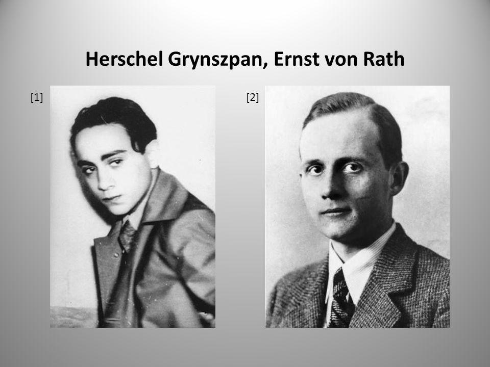 Herschel Grynszpan, Ernst von Rath [1][2]