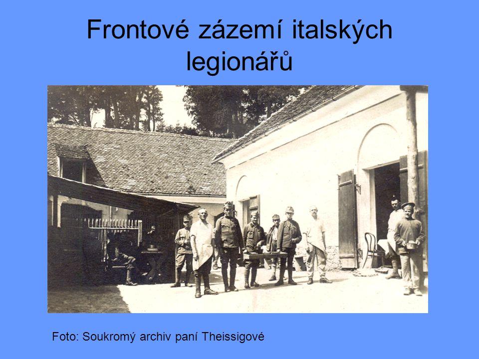 Ladislav Theissig v roce 1914 narukoval na italskou frontu Foto: Soukromý archiv paní Theissigové