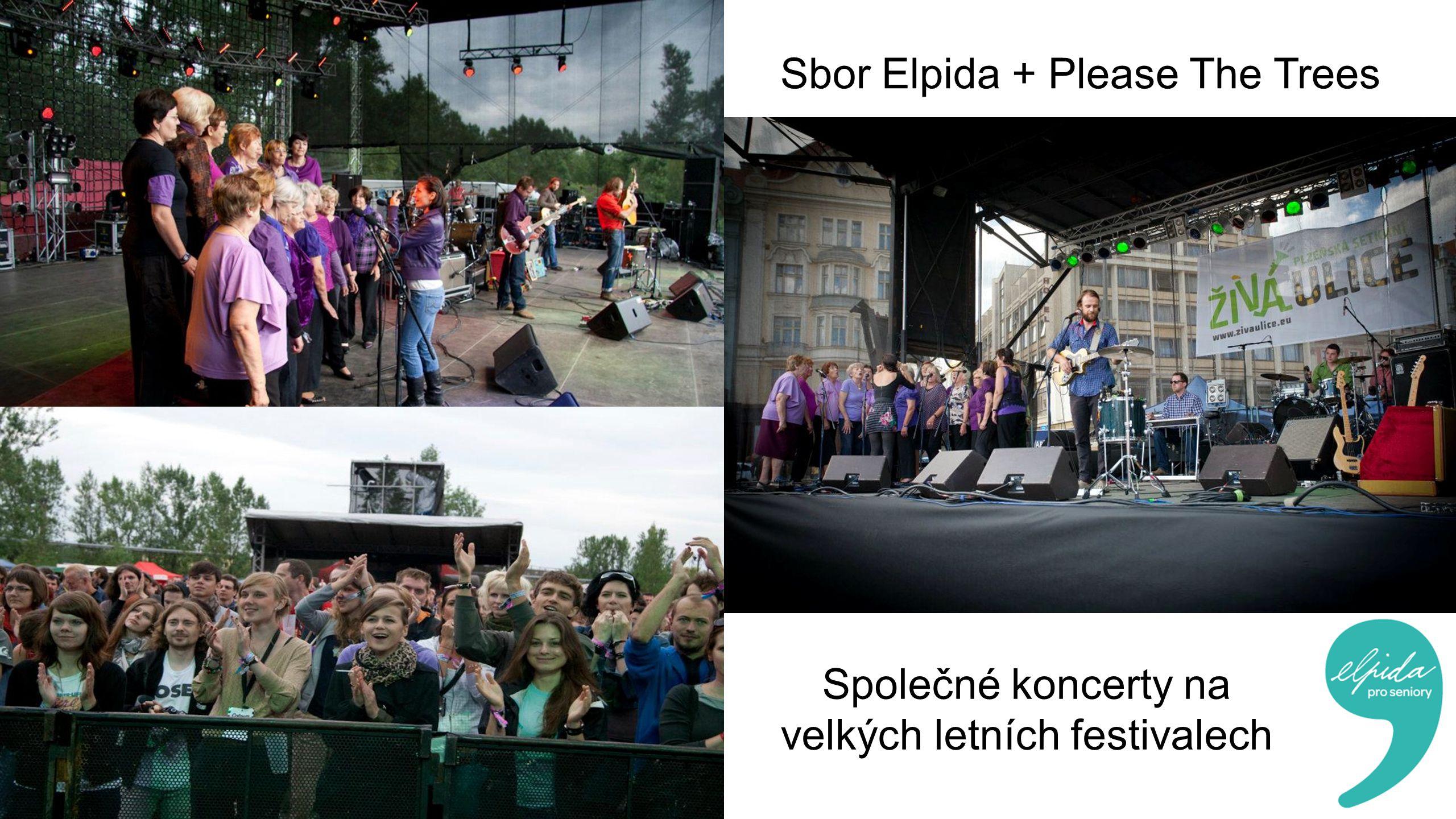 Sbor Elpida + Please The Trees Společné koncerty na velkých letních festivalech
