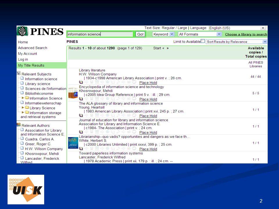 13 Knihovna Richarda Papíka modelová knihovna modelová knihovna přípravný projekt (analýza knihovny, způsob stavění fondu, věcný popis, signatury, výpůjční řád, šablony pro nejčastější typy dokumentů…) přípravný projekt (analýza knihovny, způsob stavění fondu, věcný popis, signatury, výpůjční řád, šablony pro nejčastější typy dokumentů…) vlastní zpracování (katalogizace – včetně stahování záznamů) plánováno na letní semestr (studenti výběrového semináře a předmětu Identifikační popis) vlastní zpracování (katalogizace – včetně stahování záznamů) plánováno na letní semestr (studenti výběrového semináře a předmětu Identifikační popis)