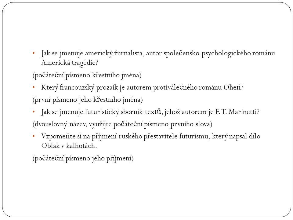 Kdo je autorem experimentální prózy s názvem Pa ř ížský venkovan.