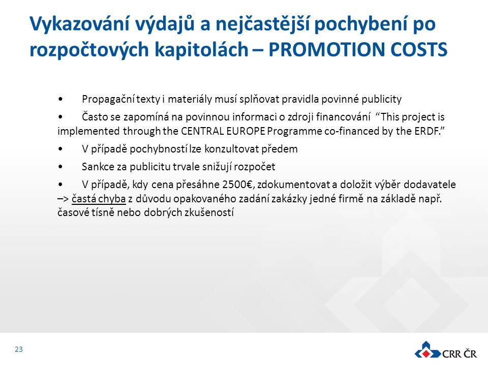 """Propagační texty i materiály musí splňovat pravidla povinné publicity Často se zapomíná na povinnou informaci o zdroji financování """"This project is im"""