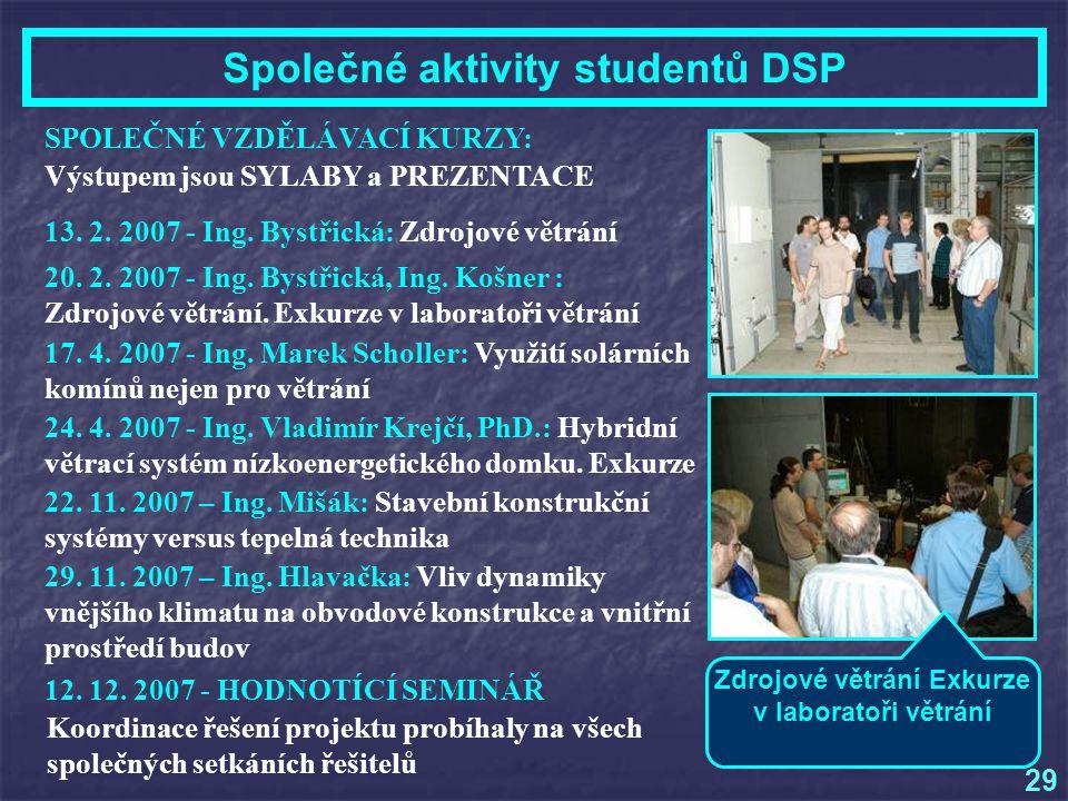 13.2. 2007 - Ing. Bystřická: Zdrojové větrání 20.
