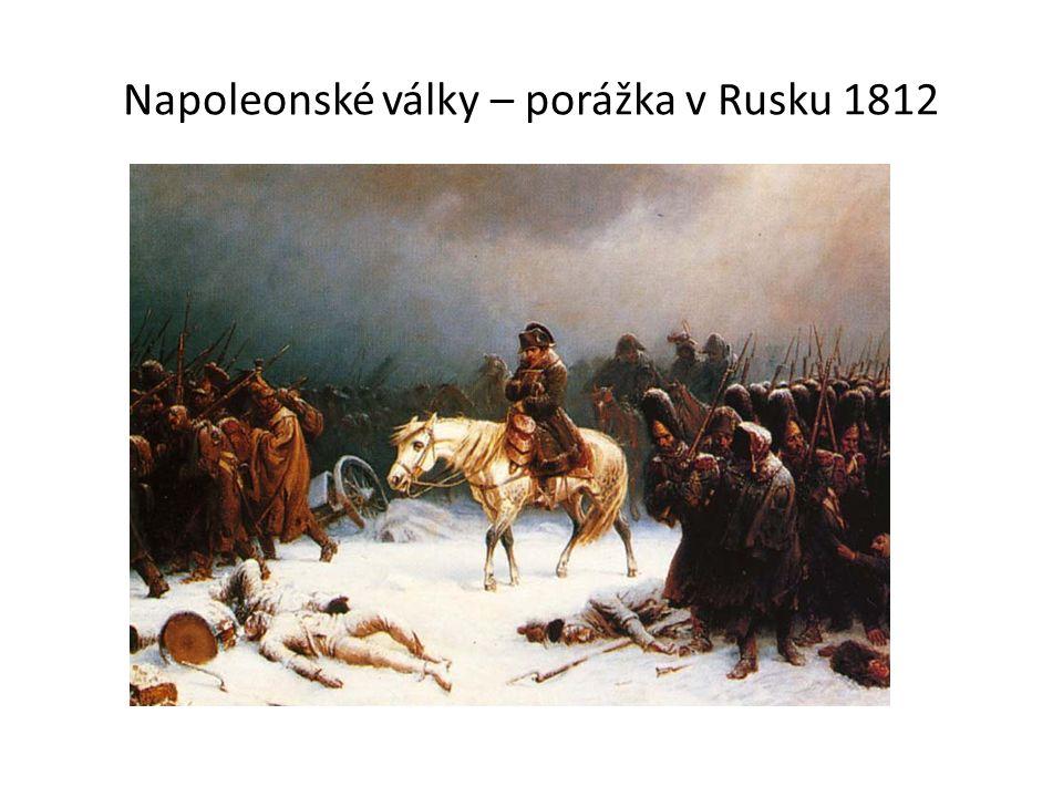 Napoleonské války – porážka v Rusku 1812