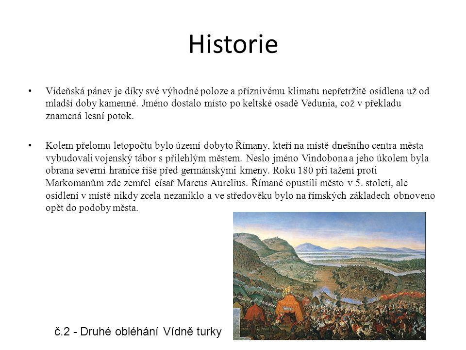Historie Vídeňská pánev je díky své výhodné poloze a příznivému klimatu nepřetržitě osídlena už od mladší doby kamenné. Jméno dostalo místo po keltské