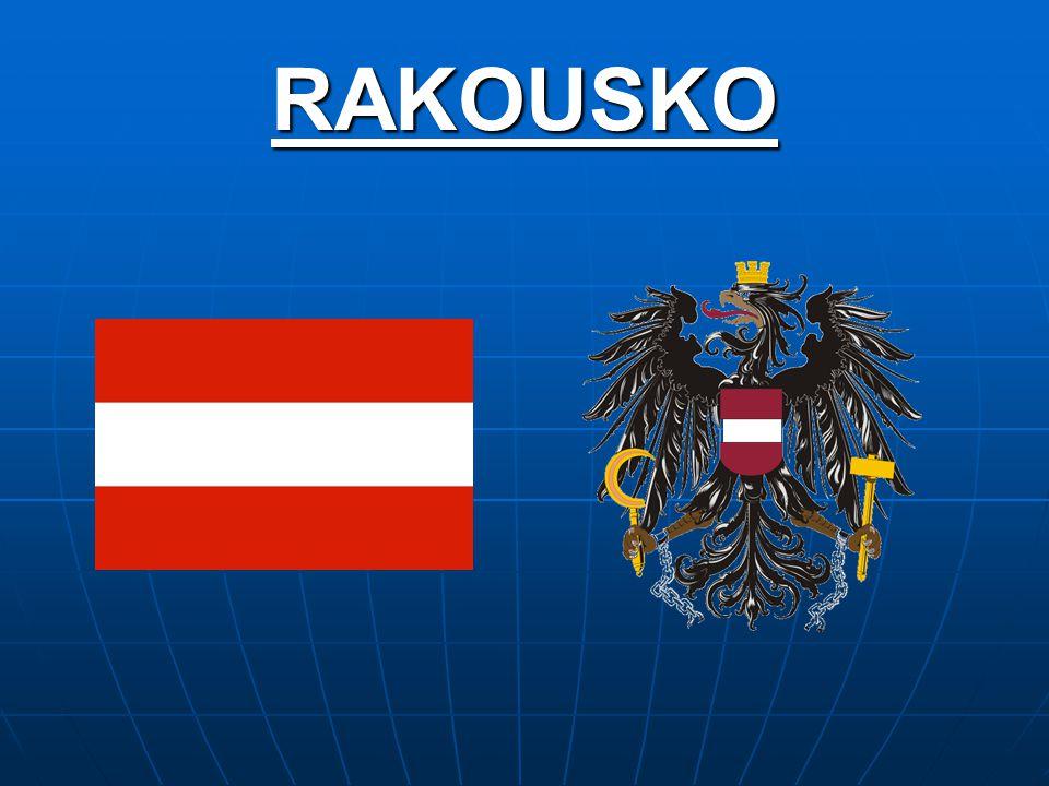 Základní info: Rozloha: 83 858km 2 Rozloha: 83 858km 2 Počet obyvatel: 8 192 880 Počet obyvatel: 8 192 880 Hlavní město: Vídeň (1 596 000 obyv.) Hlavní město: Vídeň (1 596 000 obyv.) Měna: Euro Měna: Euro