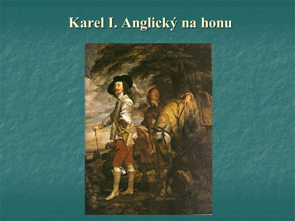 Karel I. Anglický na honu