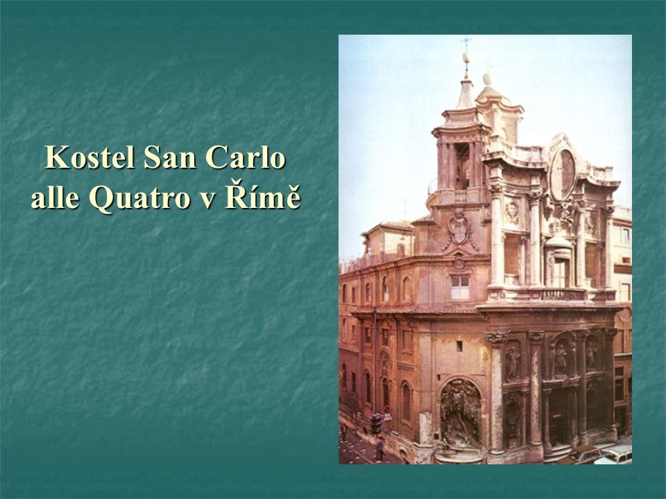 Kostel San Carlo alle Quatro v Římě