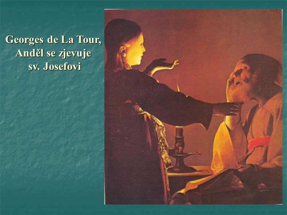 Georges de La Tour, Anděl se zjevuje sv. Josefovi sv. Josefovi