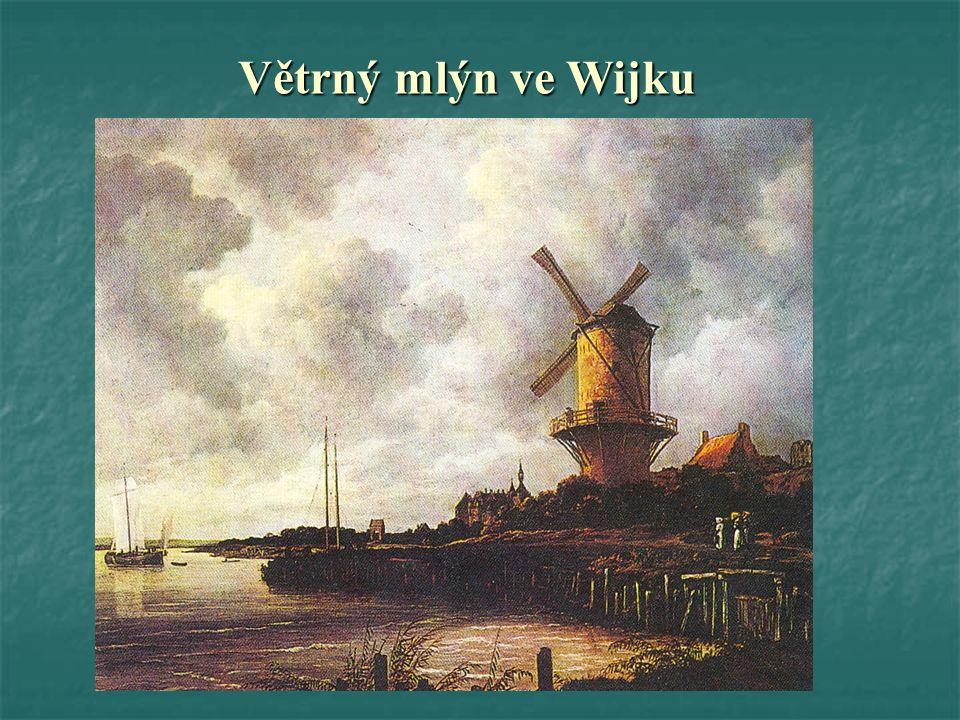Větrný mlýn ve Wijku
