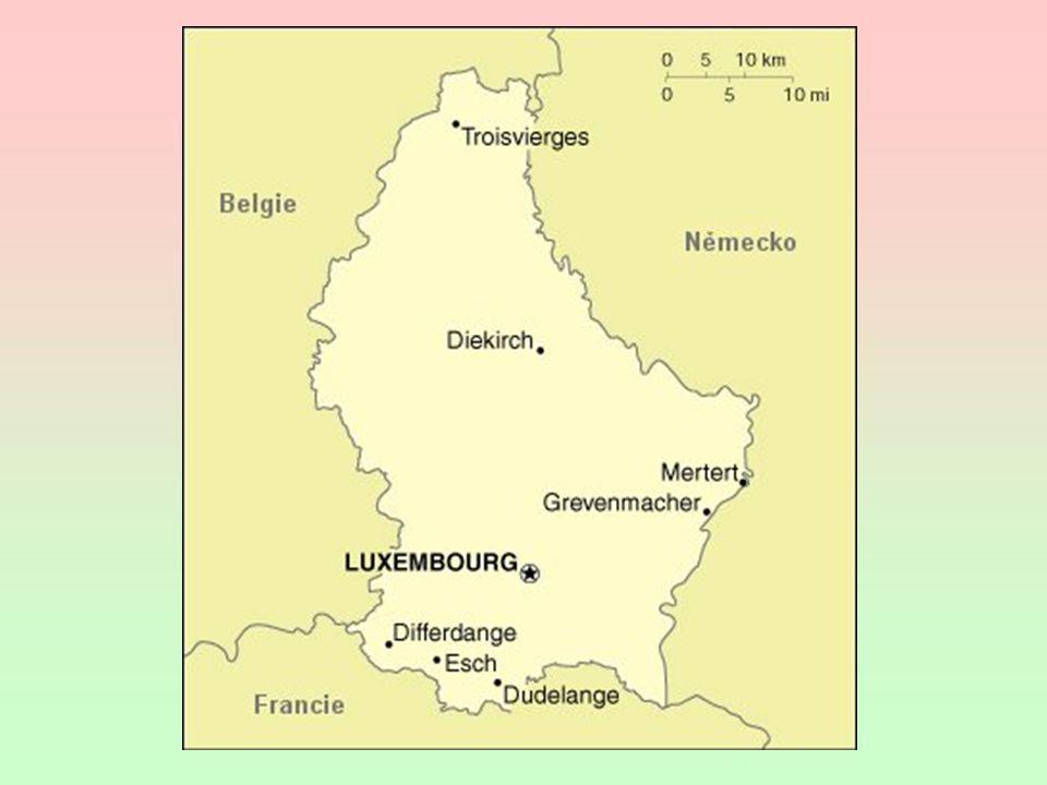 HDP - 55 000 USD ( 100 000 pracovníků z okolí) hutnictví železa + terciér Jindřich VII., Jan a Karel IV.
