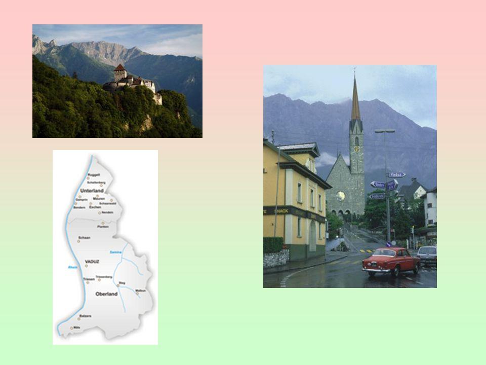 Hospodářsky vyspělá země měnová a celní unie se Švýcarskem 37 000 USD nemá letiště sídlem mnoha zahraničních firem; cestovní ruch Koncem 17.
