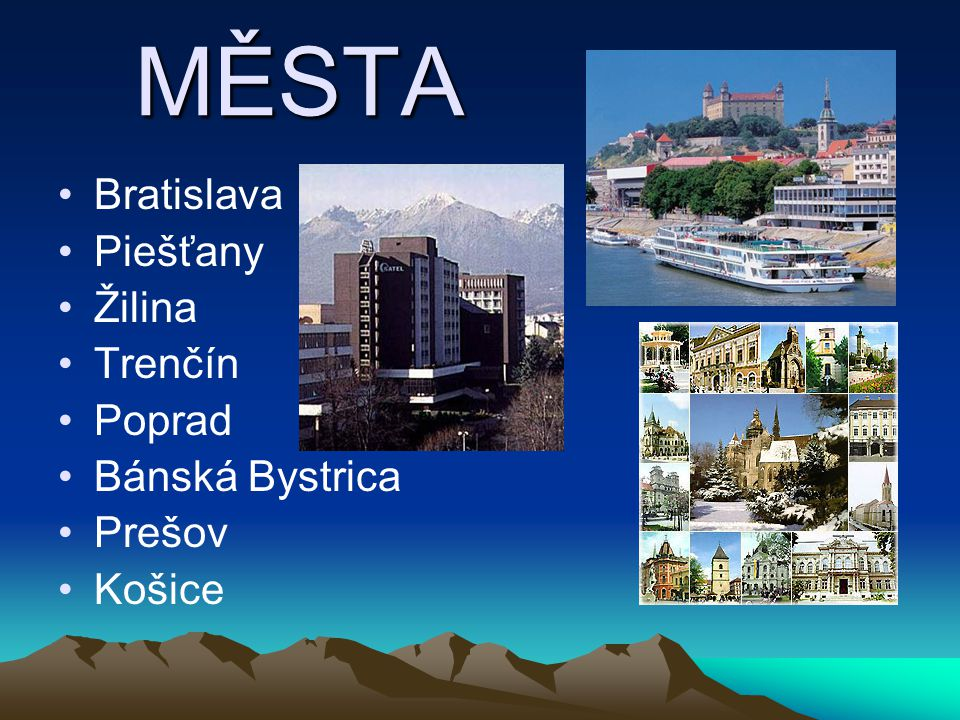 PODNEBÍ Slovensko patří do mírného podnebného pásma se střídáním čtyř ročních období. Podnebí má přechodný ráz mezi západoevropským kontinentálním pod