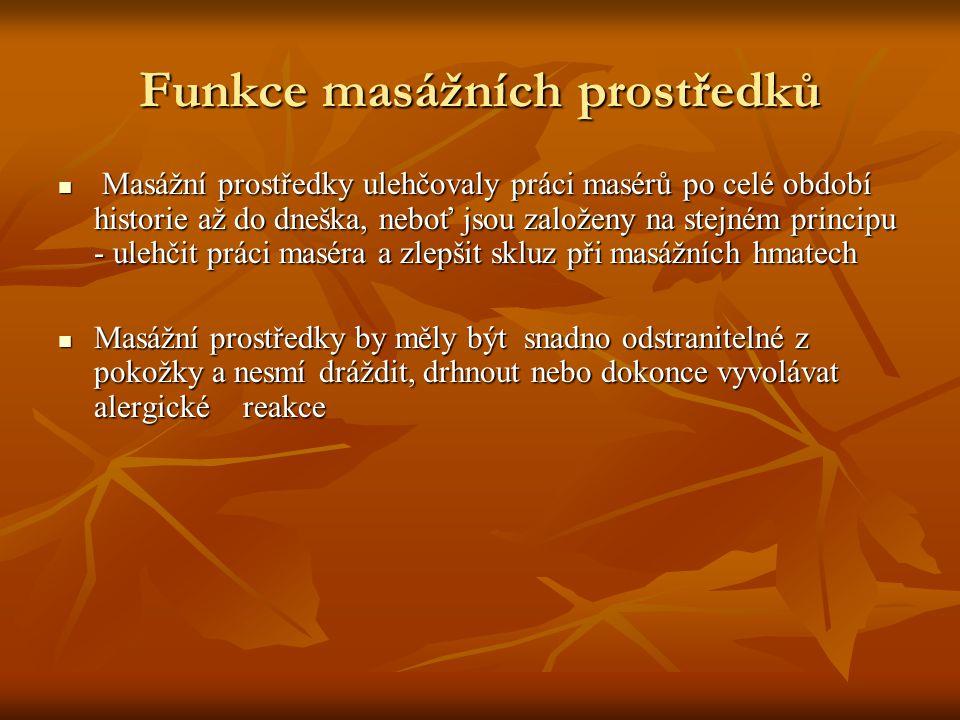 Úkol Jedním z nejstarších masážních prostředků bylo mýdlo Jedním z nejstarších masážních prostředků bylo mýdlo Zjistěte historii výroby mýdla v českých zemích Zjistěte historii výroby mýdla v českých zemích