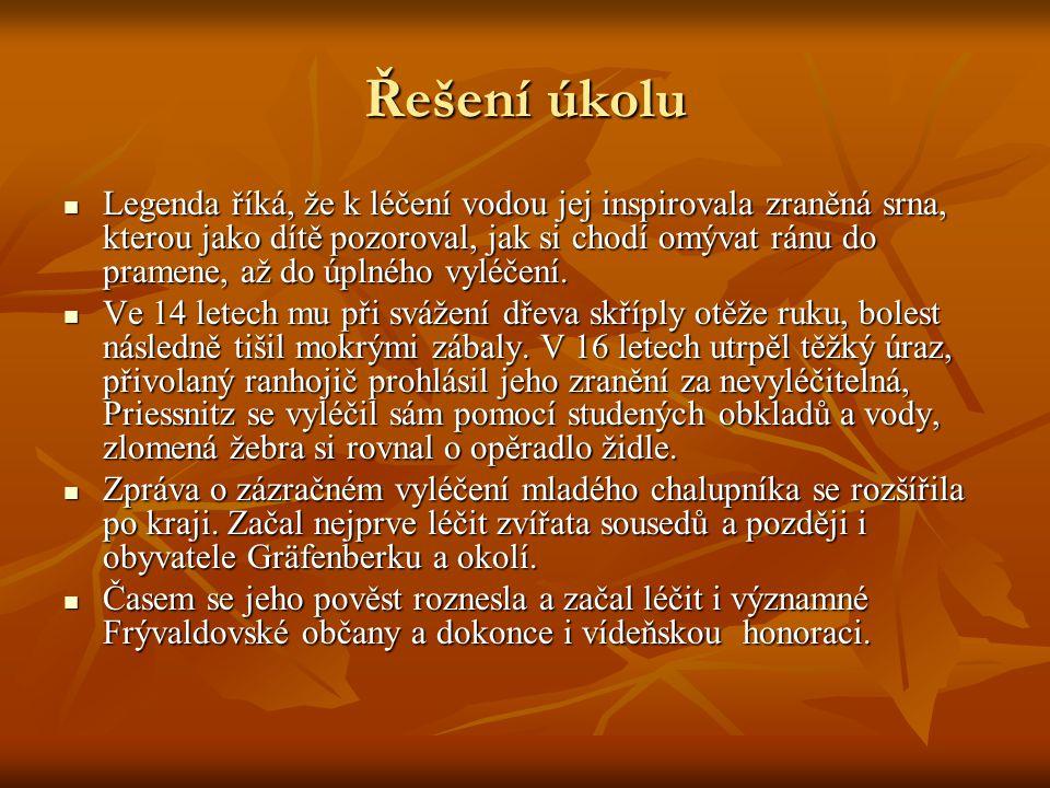 Domácí úkol S pomocí odborné literatury a internetu najděte jaké typy masážních prostředků využívali naši slovanští předkové O metodách, které přetrvaly, diskutujte odborně s pedagogem