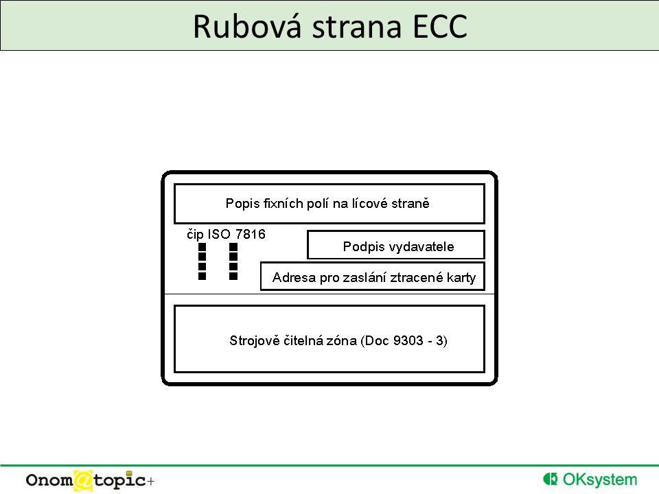Rubová strana ECC