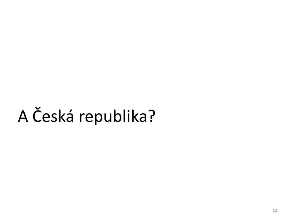 24 A Česká republika?