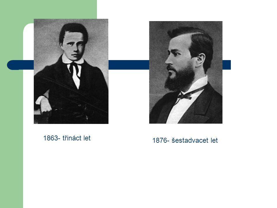 Vzdělání 1879 – Ukončuje a přednáší sedm semestrů na vídeňské univerzitě jako docent 1882 - Jmenován profesorem filozofie v Praze, je mu udělena řádná profesura, ale až v lednu 1897 1883- třiatřicet let