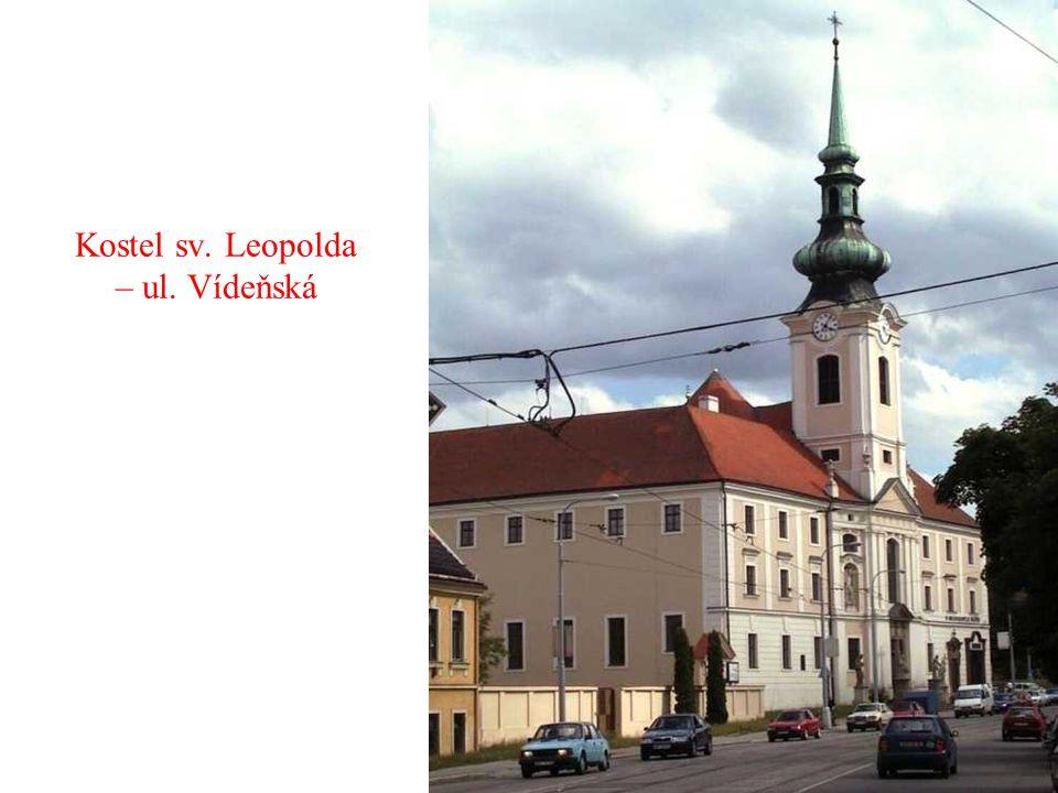 Kostel Neposkvrněného početí Panny Marie – ul. Křenová