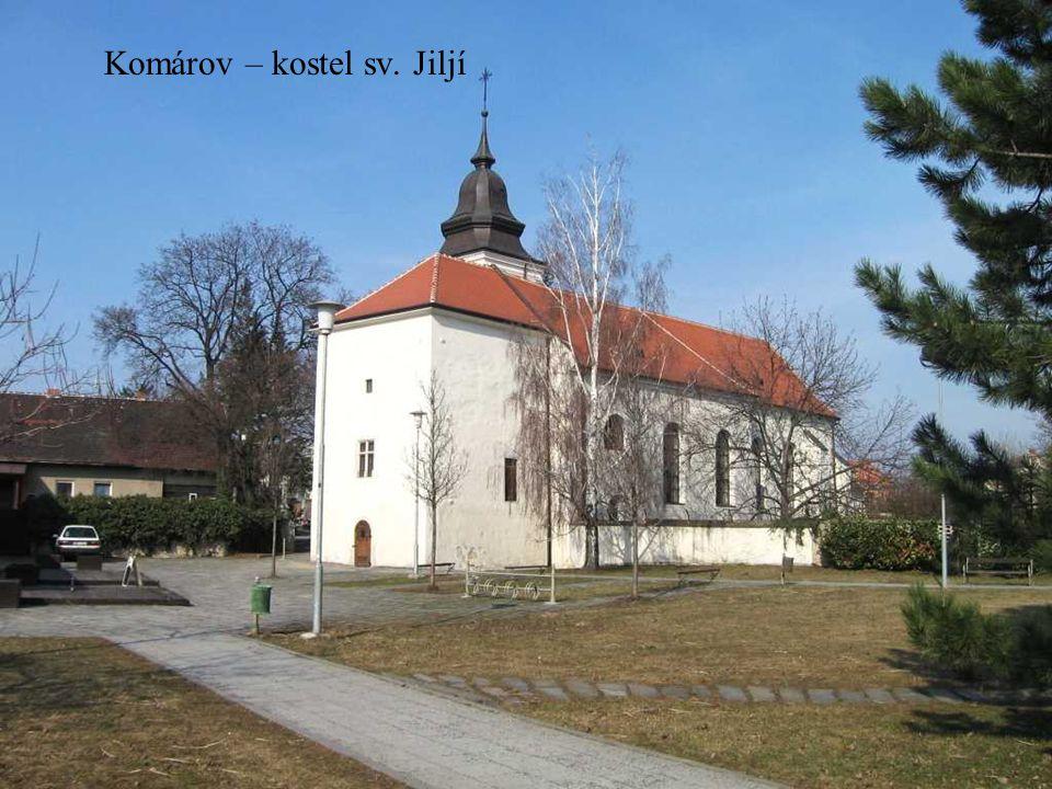 Komín – kostel sv. Vavřince