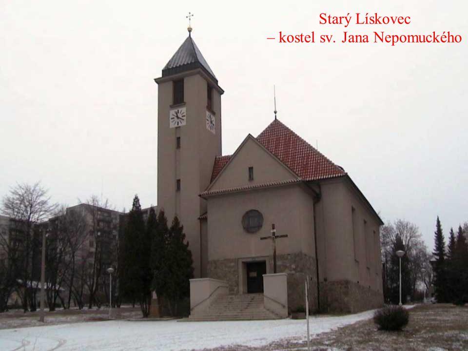 Líšeň – kostel sv. Jiljí